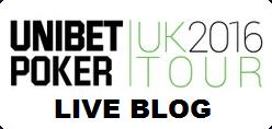 Unibet UK Poker Tour Live Blog